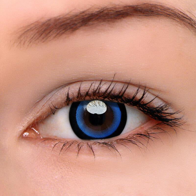 Eyeshinning Moonlight Blue Colored Contact Lenses