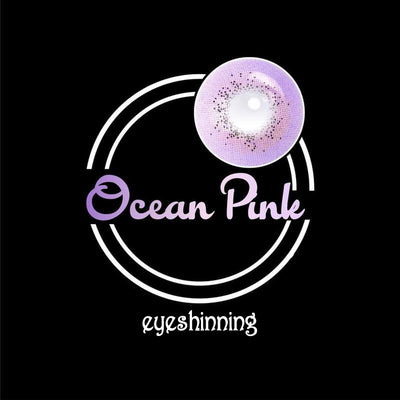 Eyeshinning Ocean Purple Colored Contact Lenses