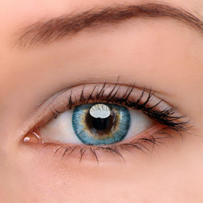 Eyeshinning Pony Blue Colored Contact Lenses