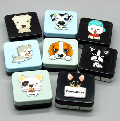 Eyeshinning Funny Doggy Lens Case