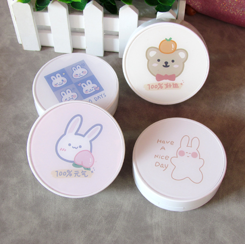 Eyeshinning Lucky Bear And Vigorous Bunny Lens Case