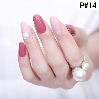 Eyeshinning French Manicure Ready-to-wear Gel Manicure