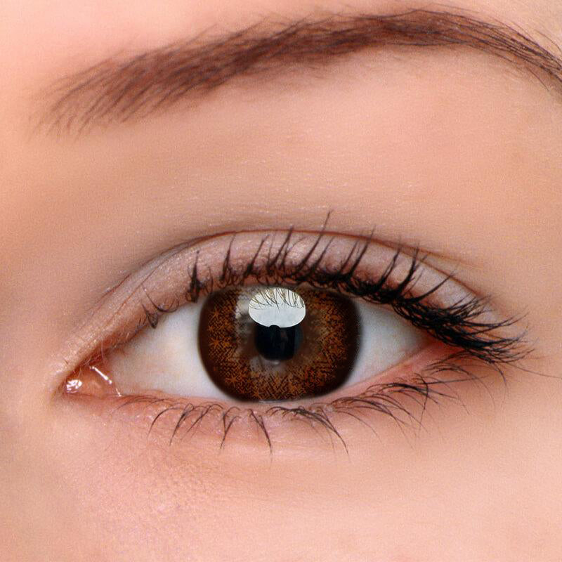 Eyeshinning Starshine Doll Brown Colored Contact Lenses