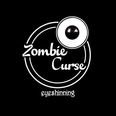 Eyeshinning Zombie Curse Colored Contact Lenses