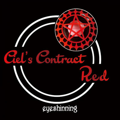 Eyeshinning Ciel's Contract Red Colored Contact Lenses