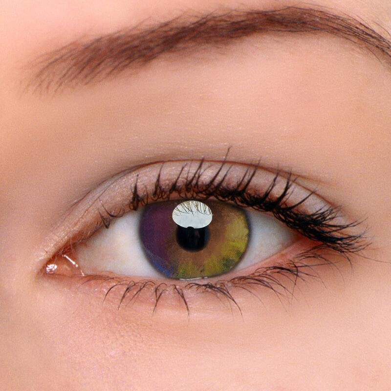 Eyeshinning Colorful Rainbow Colored Contact Lenses
