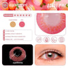Eyeshinning Donut Pink Colored Contact Lenses