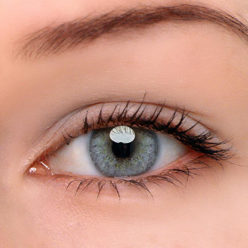 Eyeshinning Euramerican Green-Grey Colored Contact Lenses