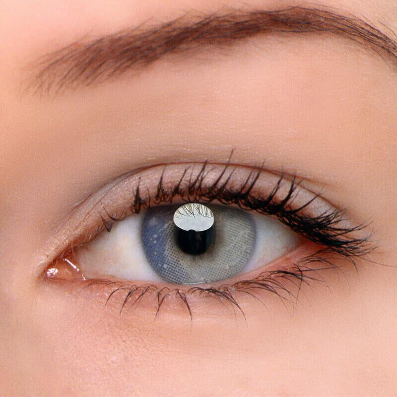 Eyeshinning Galaxy Grey Colored Contact Lenses