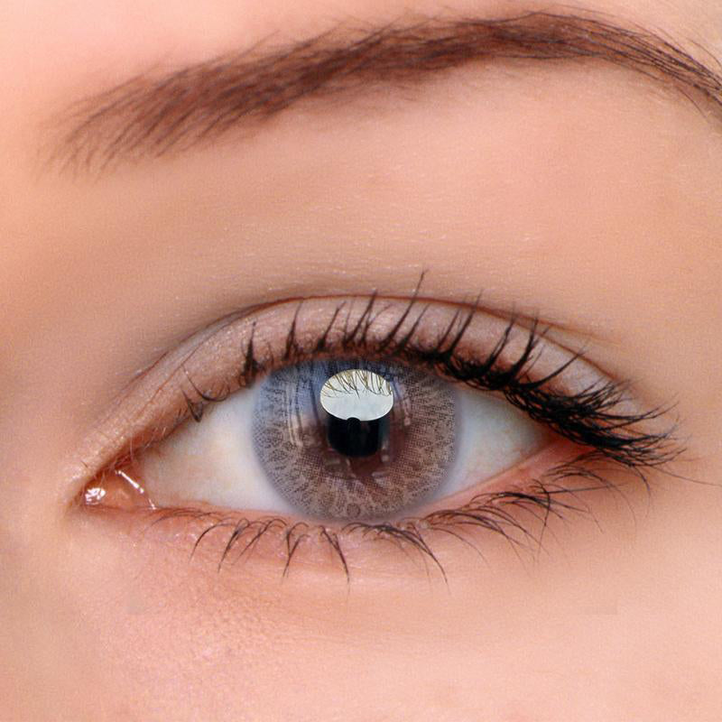 Eyeshinning Iris Grey Colored Contact Lenses