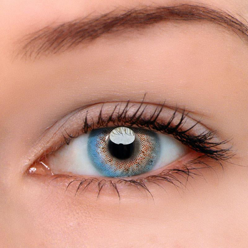 Eyeshinning Juice Blue Colored Contact Lenses