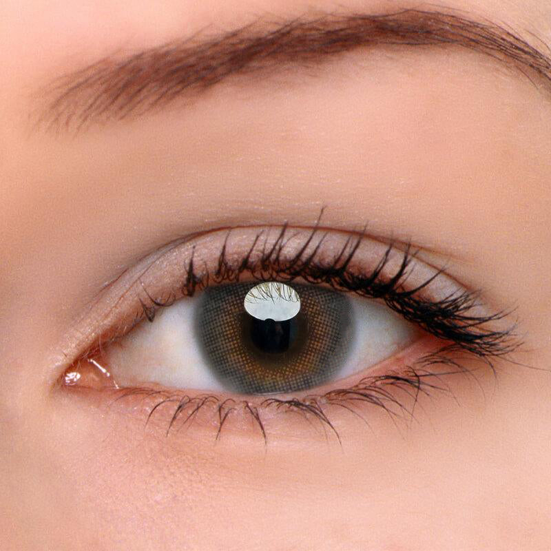 Eyeshinning Lemon Grey Colored Contact Lenses