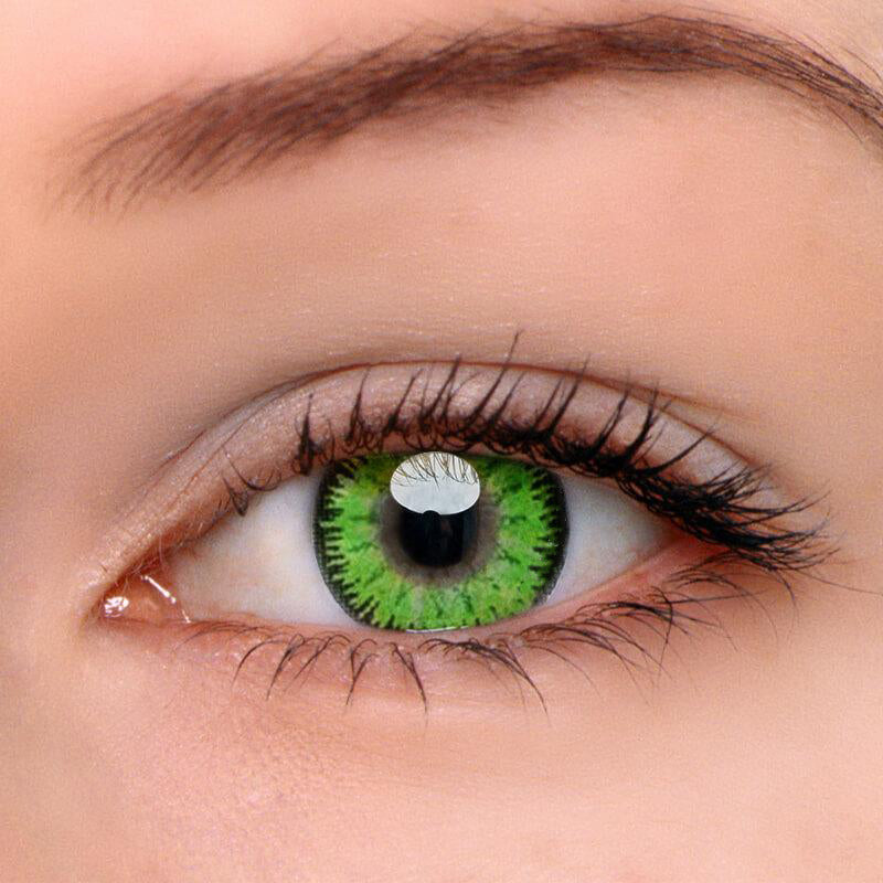 Eyeshinning Mystery Green Colored Contact Lenses