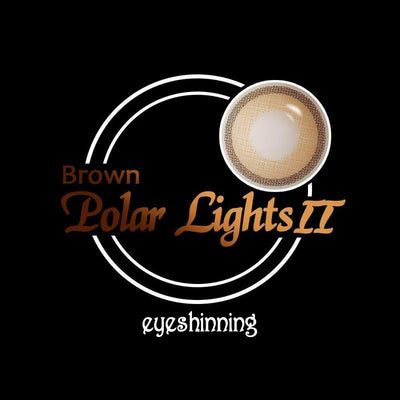 Eyeshinning Polar Lights Brown II Colored Contact Lenses