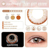 Eyeshinning Pony Grey-Brown Colored Contact Lenses