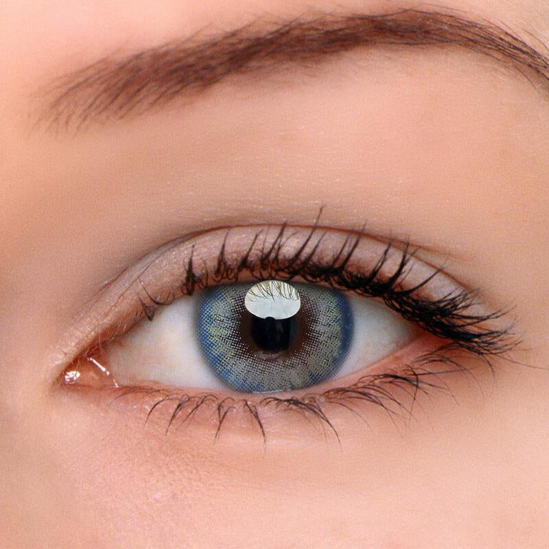 Eyeshinning Real Aqua Colored Contact Lenses