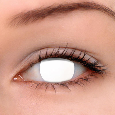 Eyeshinning Blind White Colored Contact Lenses