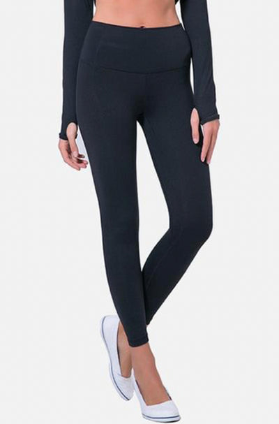High Rise Ultra Classic Leggings - Black - RODORA