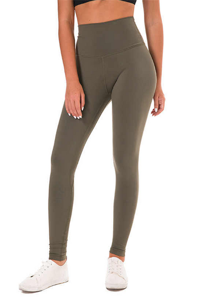 High Rise Ultra Classic Leggings - Olive - RODORA