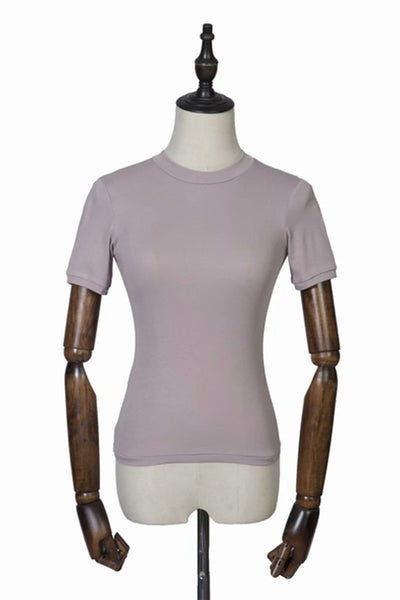 The Muted Seamless Top - RODORA