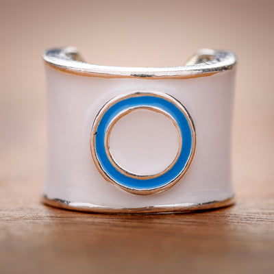 Diabetes - Blue Circle of Unity Charm