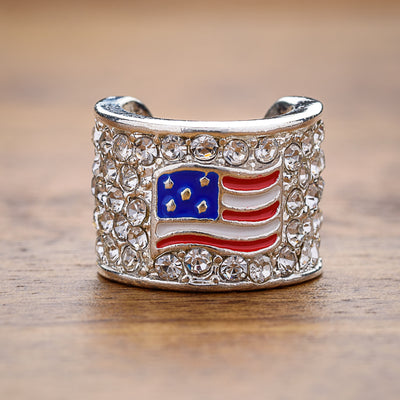 Stars And Stripes Charm