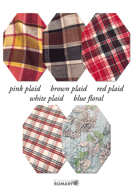 Cotton Face Mask Cotton Gauze and Plaid Fabric Options