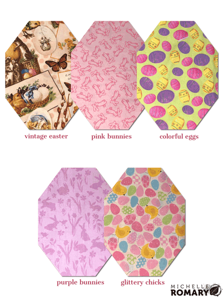 Cotton Face Mask Novelty Fabric Options for Easter