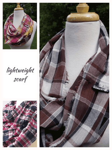 Lightweight Scarf Color Options