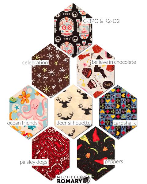 Cotton Face Mask Novelty Fabric Options