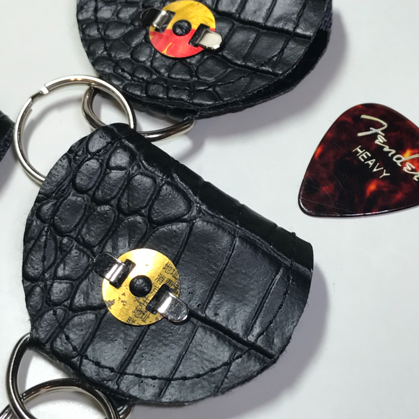 Guitar Pick Keychain Pouches