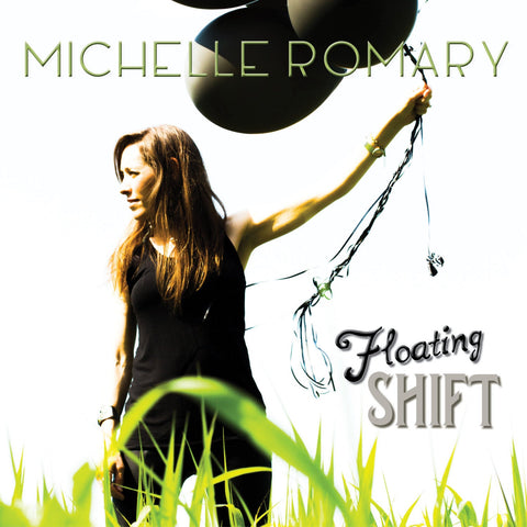 "Autographed CD ""Floating Shift"" EP by Michelle Romary (2015)"