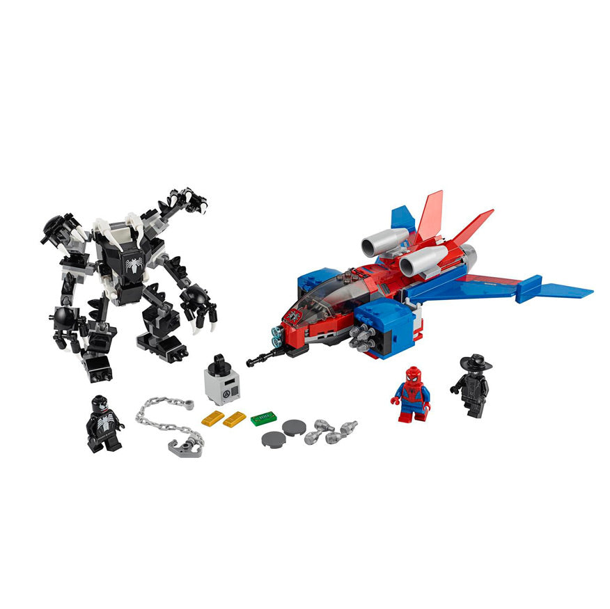 Load image into Gallery viewer, Lego - Superheroes - LEGO® Marvel Spider-Man Spider-Jet vs. Venom Mech - 76150