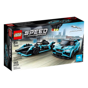 Load image into Gallery viewer, Lego - Other - LEGO® Speed Champions Formula E Panasonic Jaguar Racing GEN2 car & Jaguar I-PACE eTROPHY