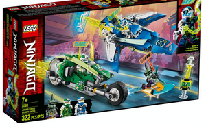 Load image into Gallery viewer, LEGO NINJAGO® Jay and Lloyd's Velocity Racers