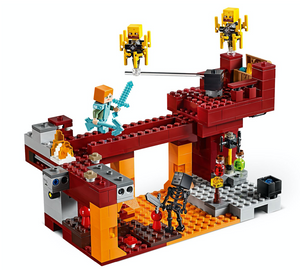 Load image into Gallery viewer, LEGO Minecraft™ The Blaze Bridge