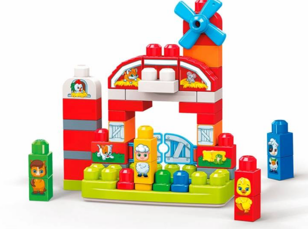 Mega Blocks- First Builders Playset