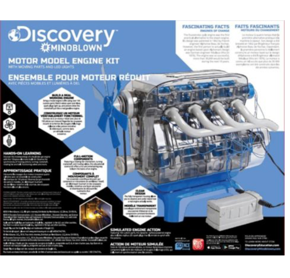 Discovery Mindblown Motor Model Engine Kit