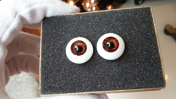 DollBakery Urethane BJD eyes -   SOLD 18mm Rootbeer - 2