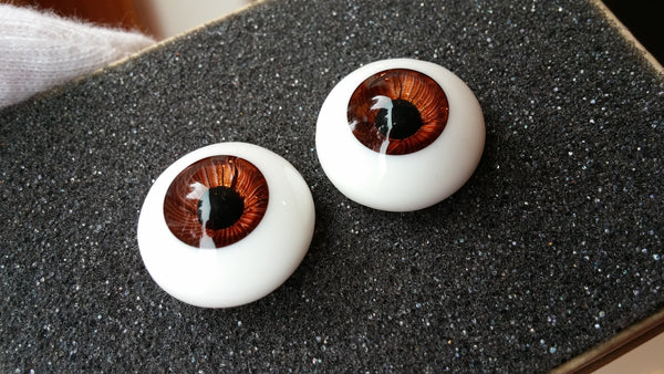 DollBakery Urethane BJD eyes -   SOLD 18mm Rootbeer - 1
