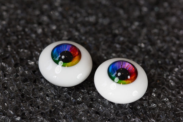 DollBakery Urethane BJD eyes -   Rainbow - 16