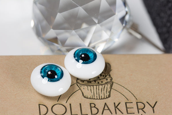 DollBakery Urethane BJD eyes -   Perfect Teal - 7