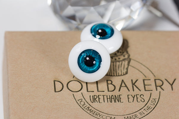 DollBakery Urethane BJD eyes -   Perfect Teal - 8