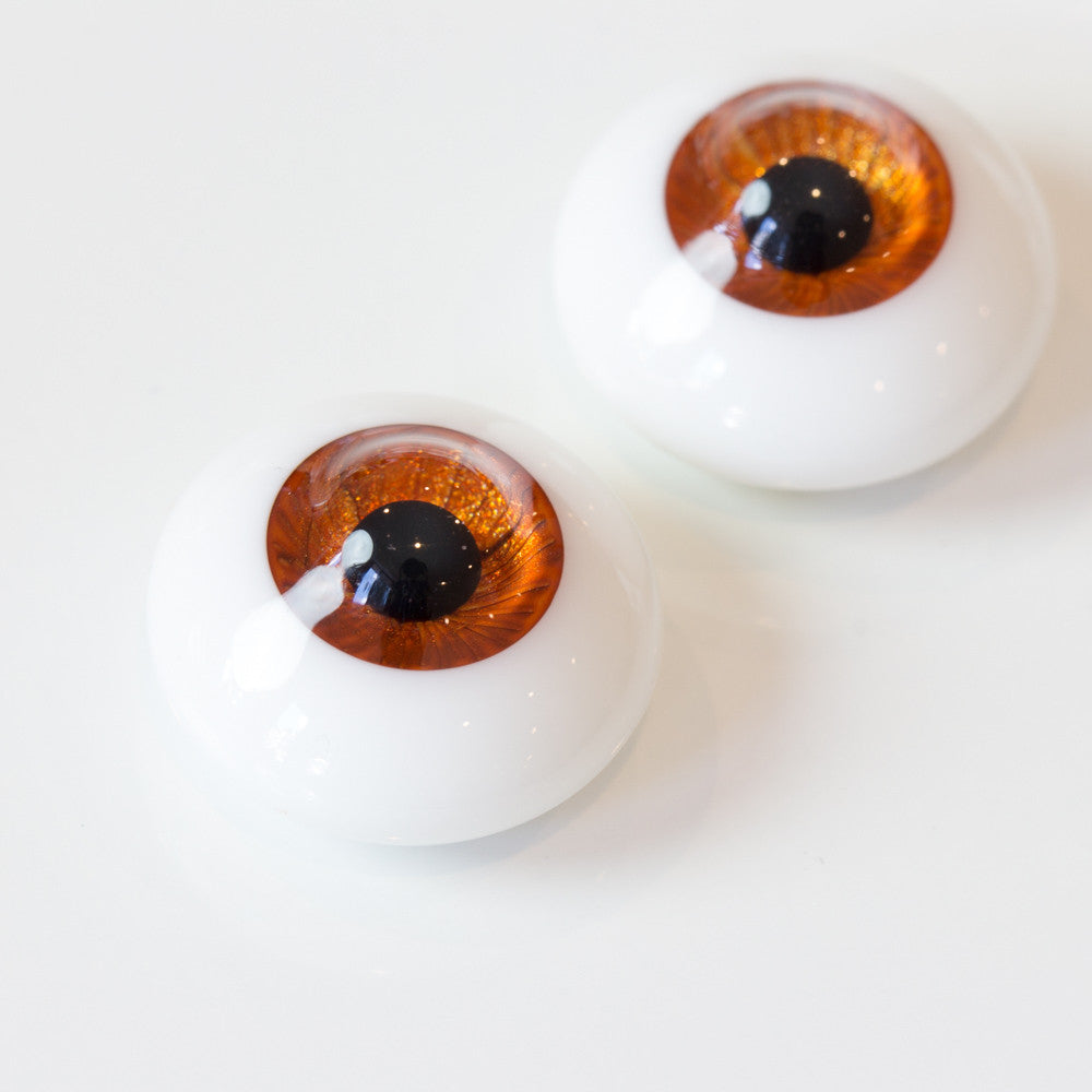 DollBakery Urethane BJD eyes -   Pumpkin - 3