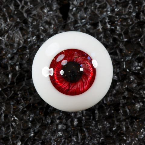 DollBakery Urethane BJD eyes -   Candy Apple Red - 1