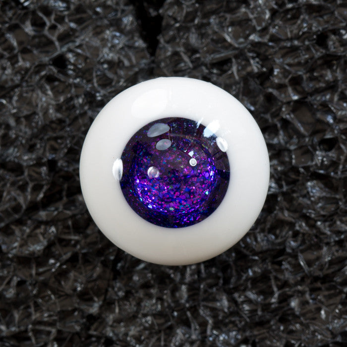 DollBakery Urethane BJD eyes -   Amethyst Geode Jelly - 1