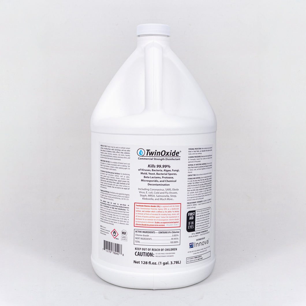TwinOxide Spray Disinfectant Gallon (case of 4)