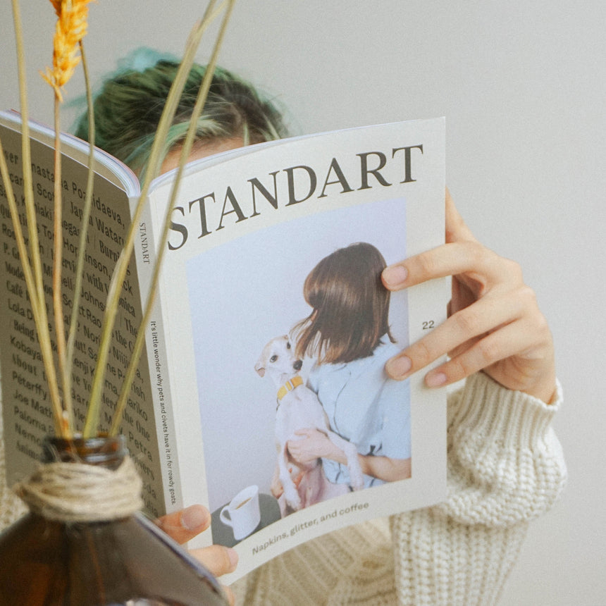 Standart Magazine: Issue 22 - Napkins, Glitter, and Coffee