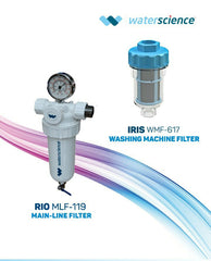 Combo-4 RIO Main Line Filter & IRIS washing Machine Filter