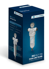 RIO MLF-119 Main Line Filter - for Sediment, Sand & Hard Water
